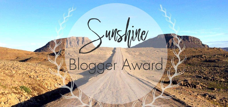 Sunshine blogger award –nomination